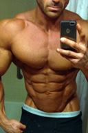 Gorgeous Amateur Hunks Selfie
