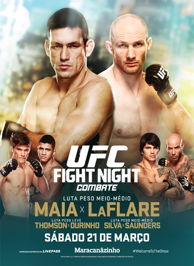 Download UFC Fight Night Demian Maia vs Ryan LaFlare Completo Torrent