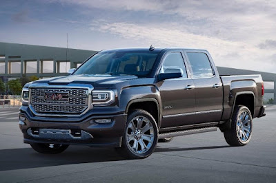 GMC Sierra 1500 Denali Ultimate Crew Cab (2016) Front Side