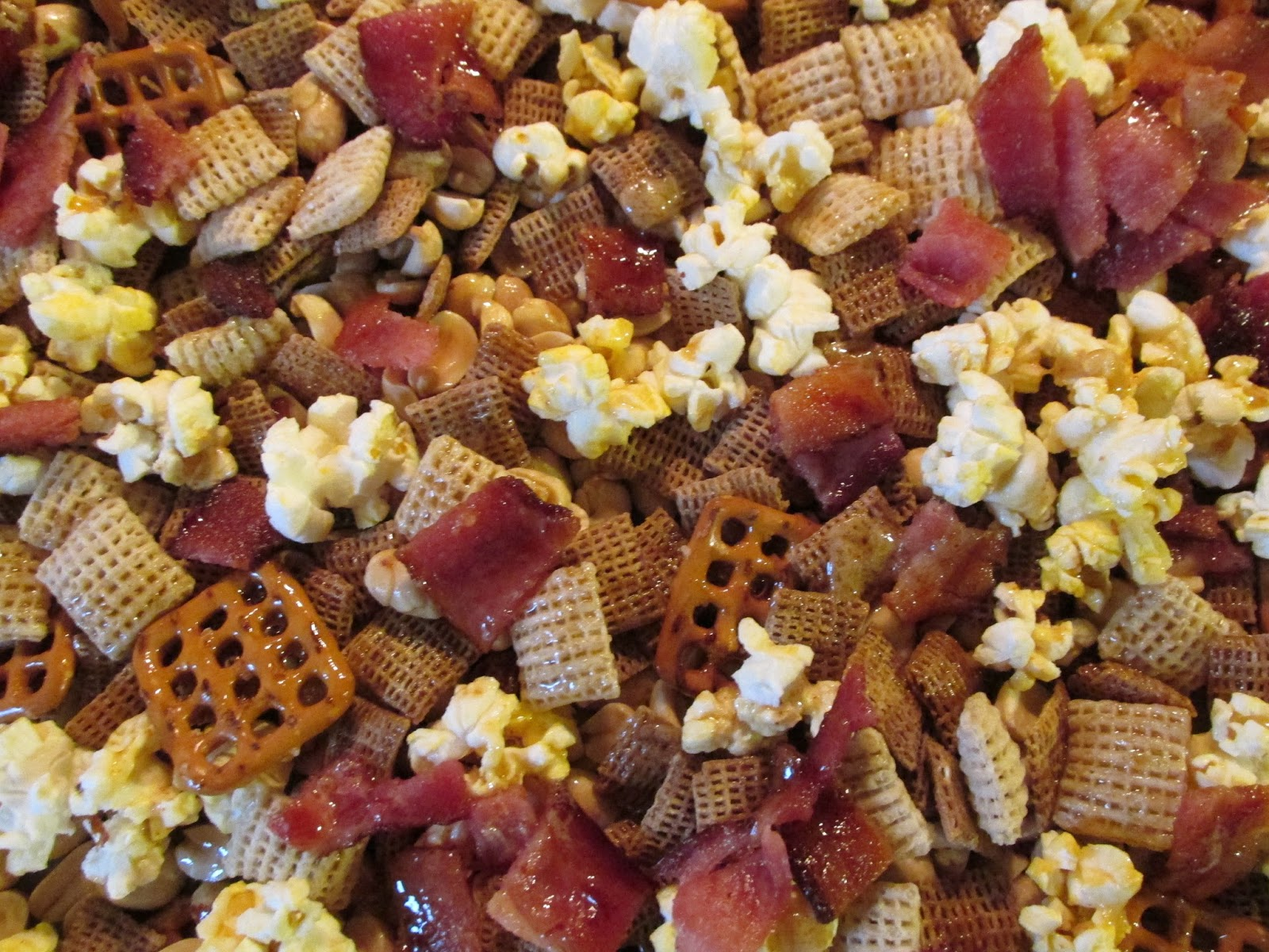 Maple Bacon Draft Party Mix