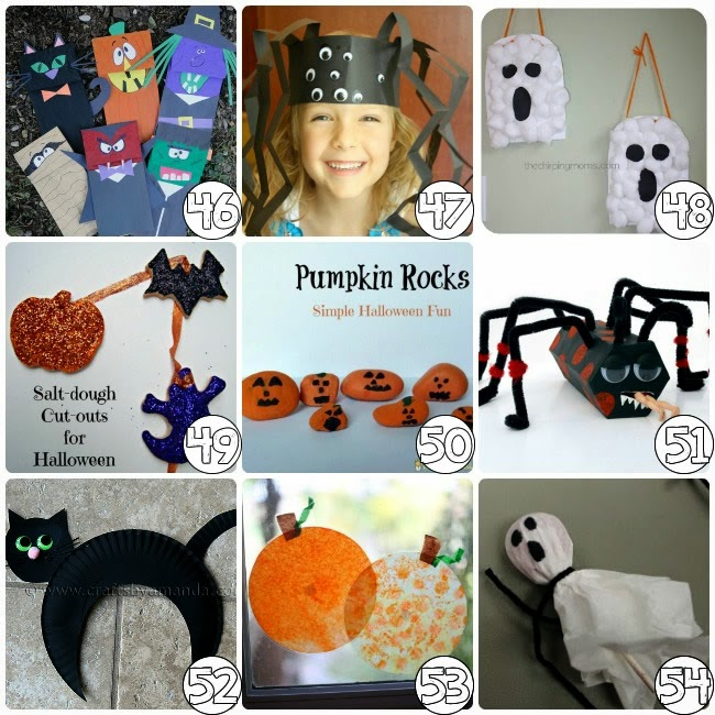 Arts Crafts Halloween For Kids