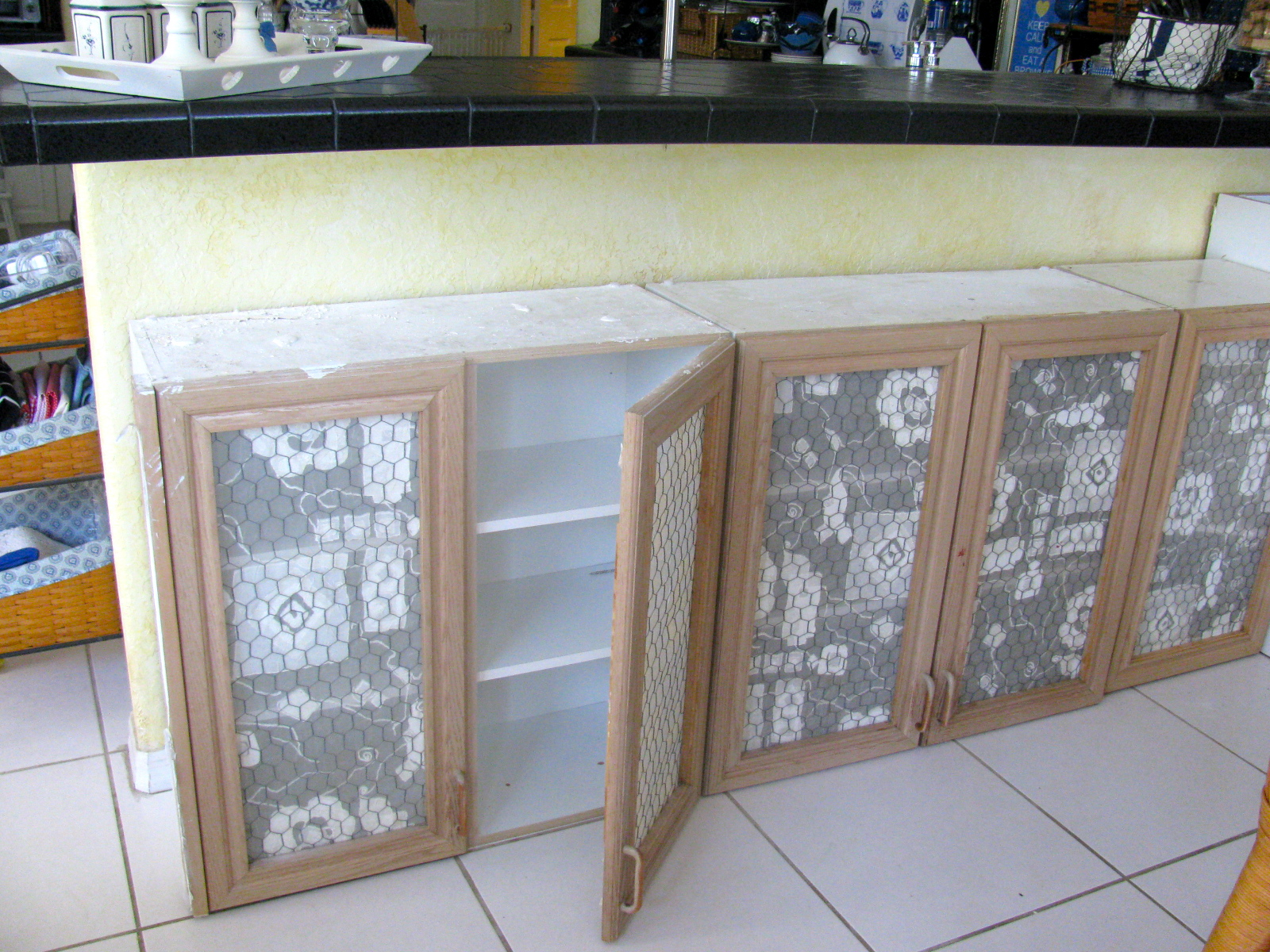 MAY DAYS Salvaged Kitchen Cabinet Remodel
