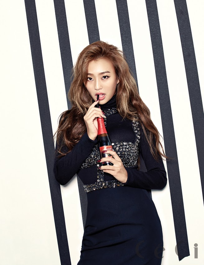 SISTAR Starship Entertainment Ceci Magazine December Issue 2014