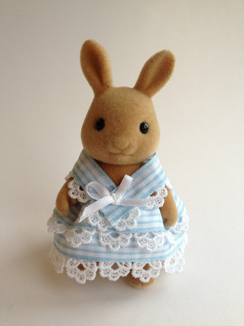 Sylvanian Families Nurse Nightingale Dress Handmade Japanese Pattern