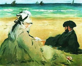 Эдуар Мане. На пляже. 1873.