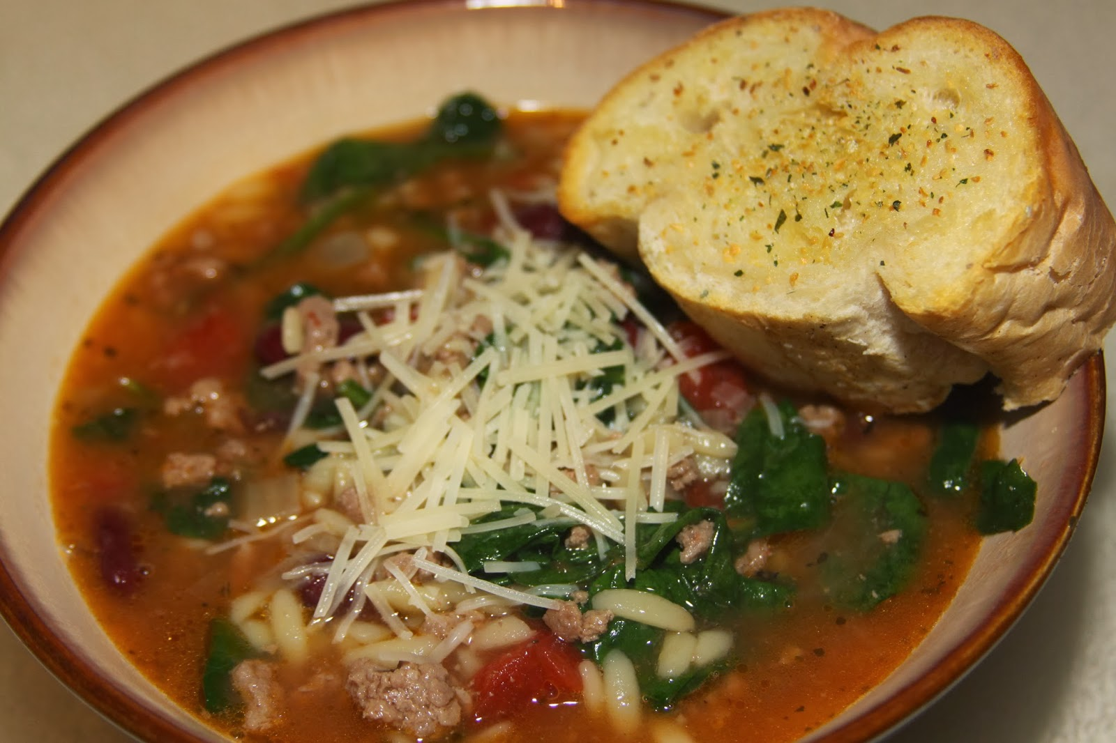 For the Love of Food: Tuscan Turkey Soup and Gooseberry Patch giveaway