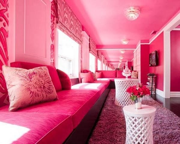 jolies salons d233corations en rose d233coration salon