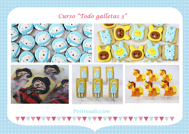 curso de galletas con Julia Guarch