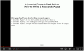 How to Write Reseach Paper (part 1)