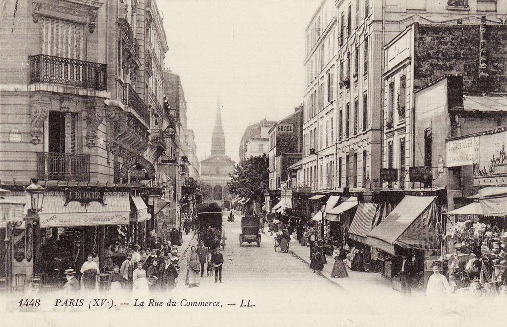 H raldie le quartier lacordaire paris 15e la belle poque - Rue du commerce cuisine ...