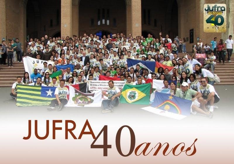 Encontro 40 anos da JUFRA do Brasil em Guaratinguetá e Aparecida do Norte/SP - 2011