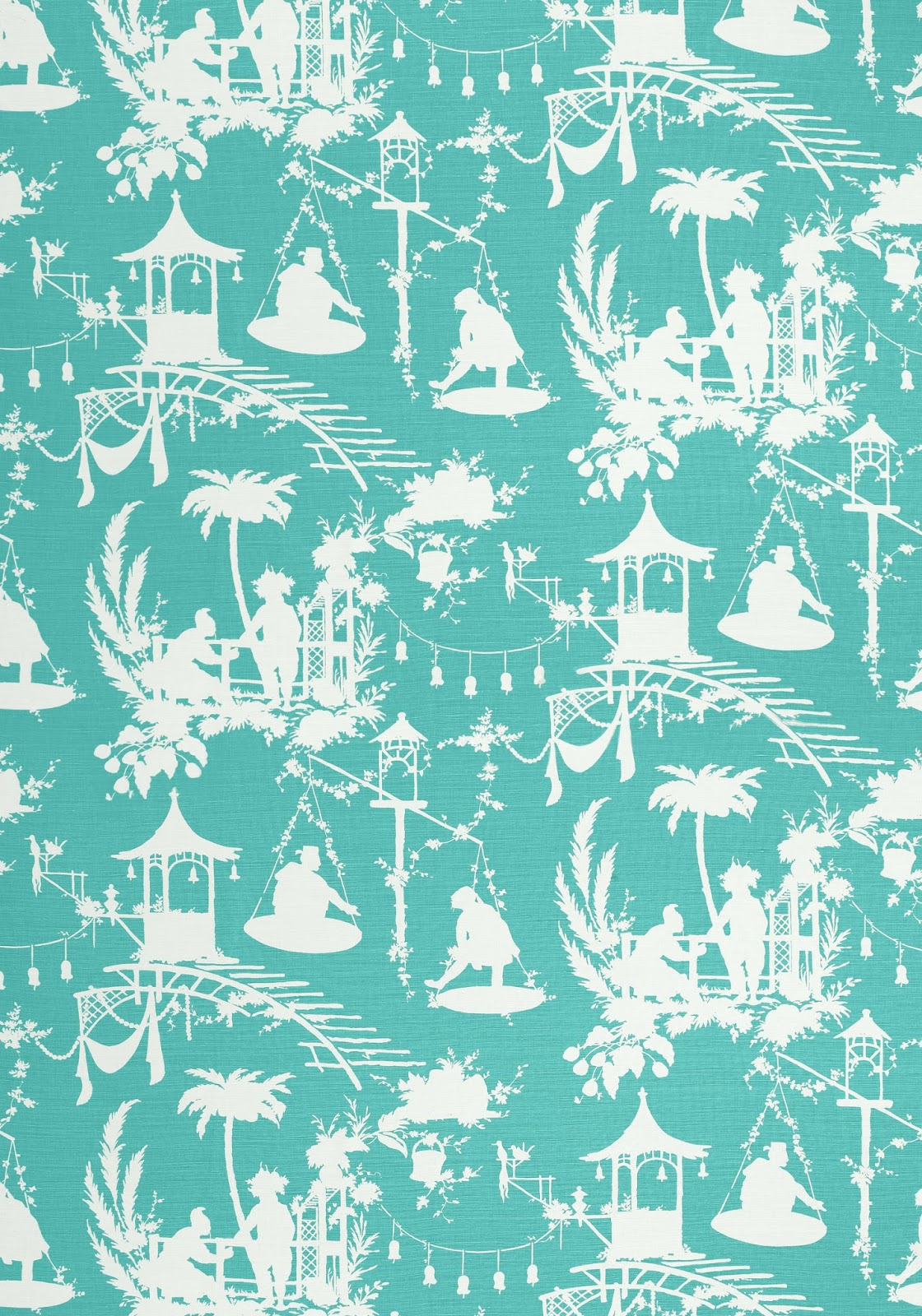 Chinoiserie chic introducing thibaut 39 s south sea for Chinoiserie design