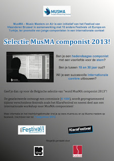 Selectie MusMA componist 2013