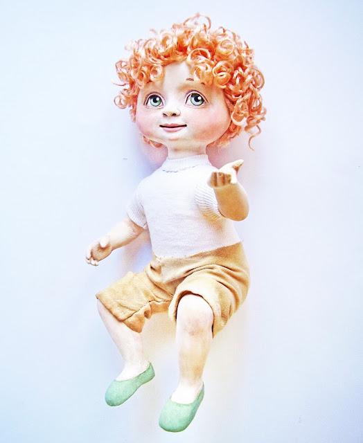 Как связать костюм кукле спицами