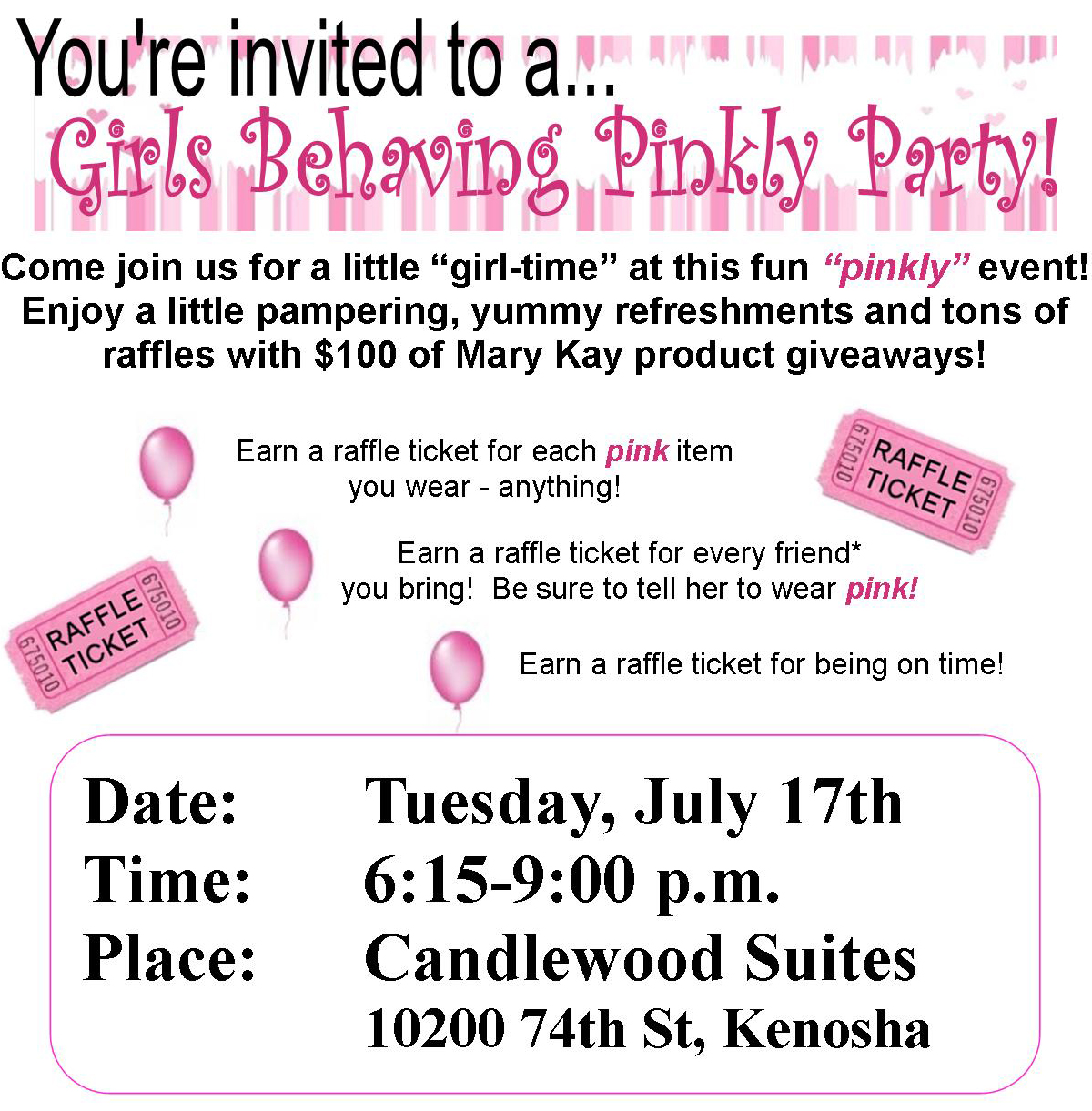Free Printable Mary Kay Invitations http://www.krkpoland.pl/css/mary ...