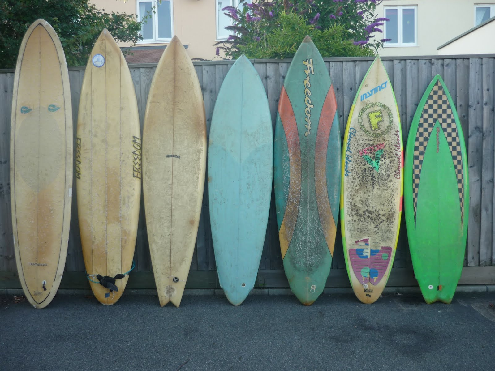 Vintage Surfboard Collector UK Freedom Fest