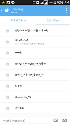 #bad1stwin trending korea