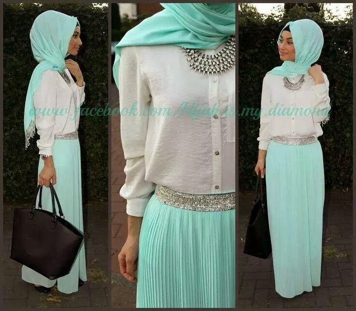 Photoes hijab fashion hijab-style-summer-5