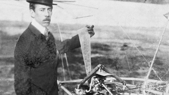 O Poeta Voador - Santos Dumont em exposição acessível no Museu do Amanhã