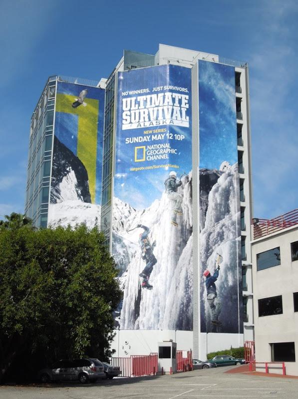 Ultimate Survival Alaska billboard