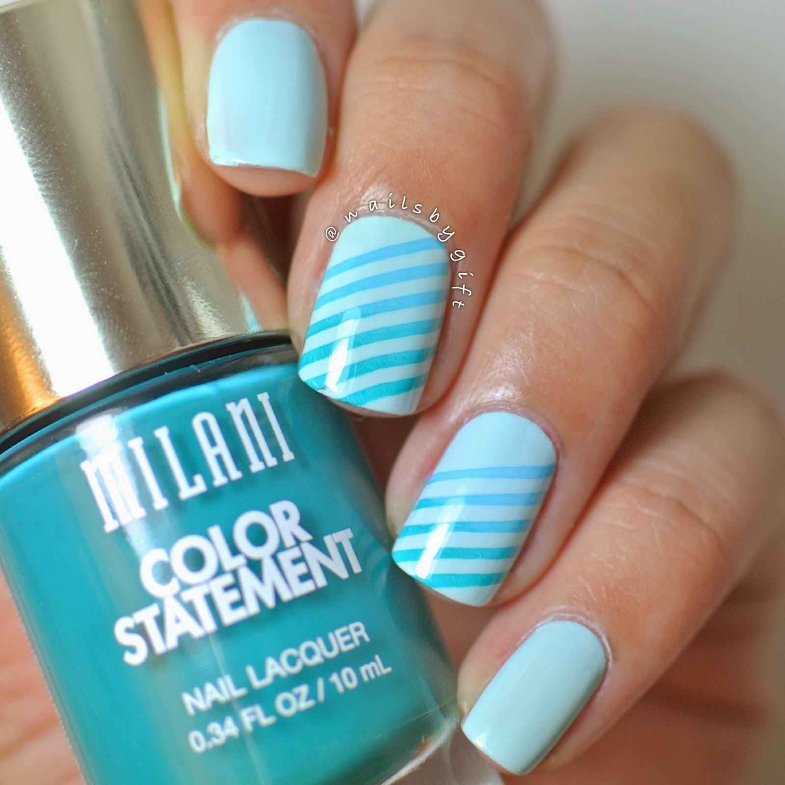 Clumpy Nail Polish: Nails By Gift: Milani Nail Polish Review Part 1