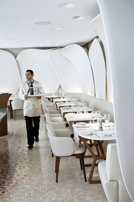 Mandarin Oriental restaurant service