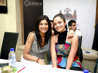 Sheena Chohan, Dia Mirza and Sushmita sen at 'I AM She 2012' auditions