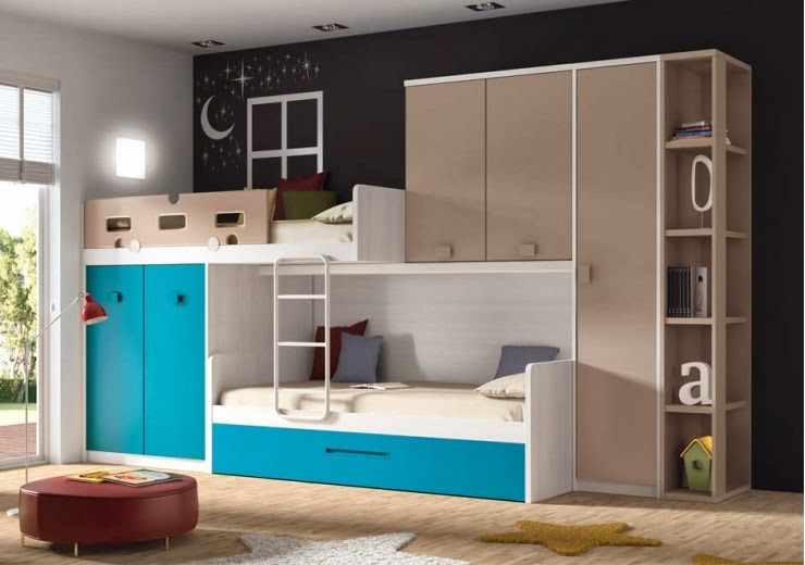 Blog dormitorios juveniles com qu es una cama tren juvenil - Habitaciones con literas juveniles ...