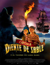 Capitán Diente de Sable y el tesoro de Lama Rama (2014)