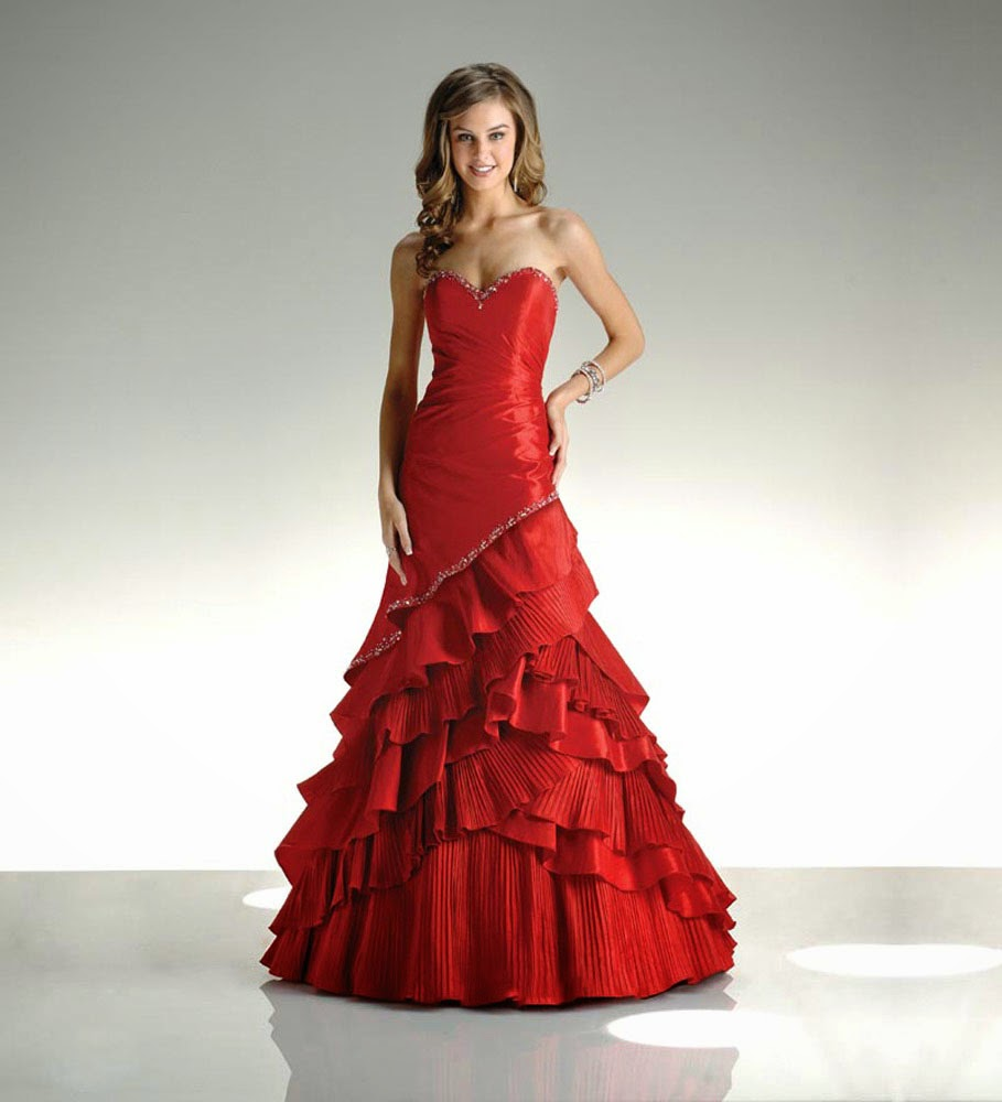 Red Ball Gown Wedding Dresses Kleinfeld Ideas
