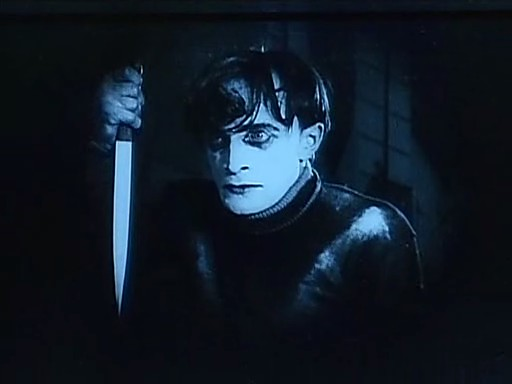 Film reviews from the cosmic catacombs the cabinet of dr caligari 1920 review - The cabinet of dr caligari cesare ...