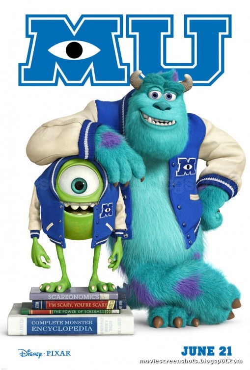 Vagebond's Movie ScreenShots: Monsters University (2013) Monsters University 2013