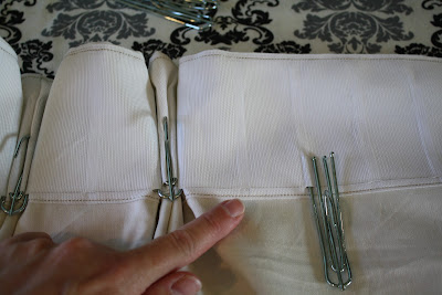 Willow Wisp Cottage: A simple method for making pinch pleat curtains