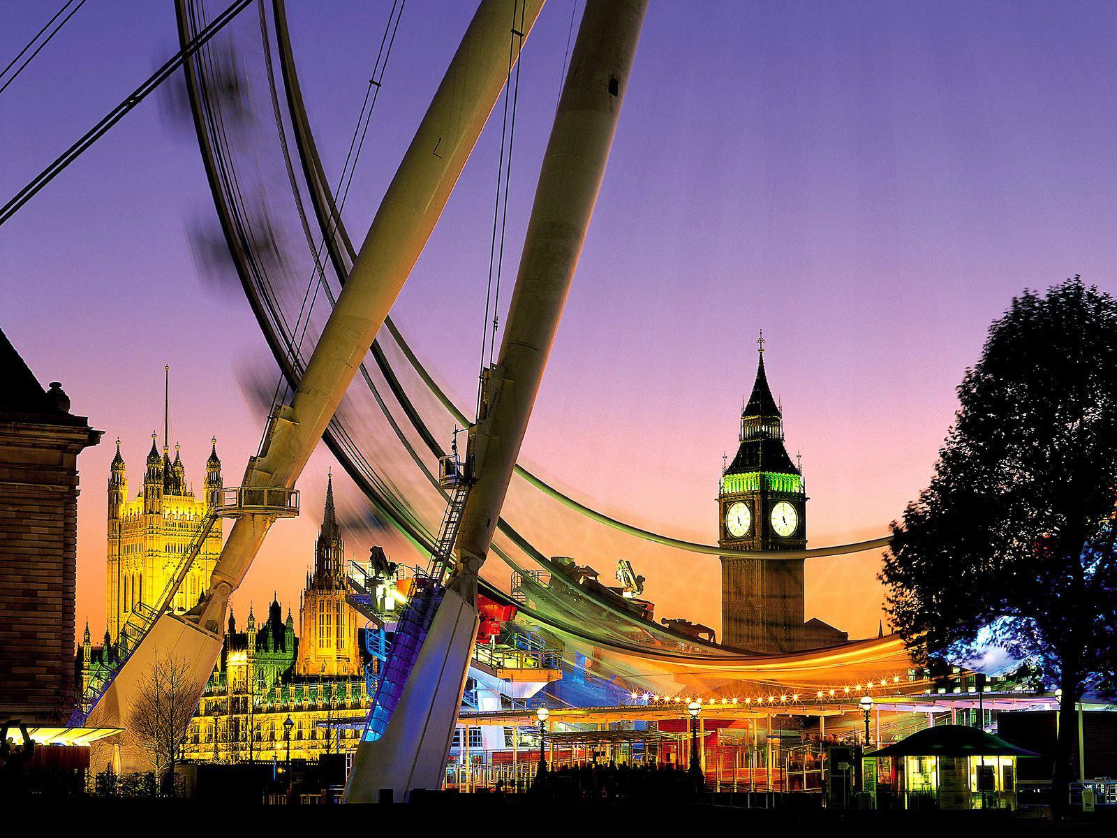 world visits christmas season london eye wallpaper