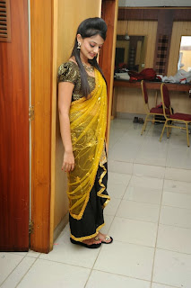 Actress Nikitha Narayana Pictures in Half Saree at Varna Audio Launch 0003