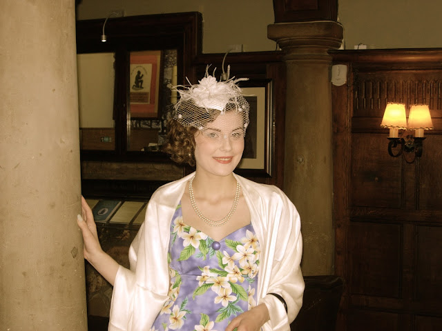 1950s inspired wedding outfit via lovebirds vintage