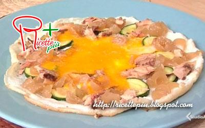 Pizza d'uovo di Cotto e Mangiato
