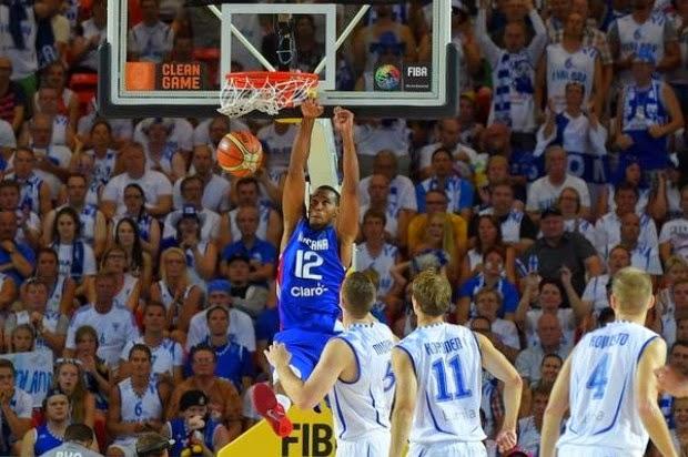 La selección de la República Dominicana derrotó este martes 74-68 al combinado de Finlandia en la continuación del Mundial de Baloncesto, encuentro que se desarrolló en el Bizkaia Arena, de Bilbao, España.