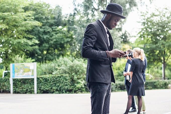 STREET STYLE | BLACK HAT