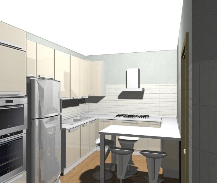Veneta cucine milano lissone una veneta cucina bellissima lineare ad angolo con penisola - Cucina compatta ...