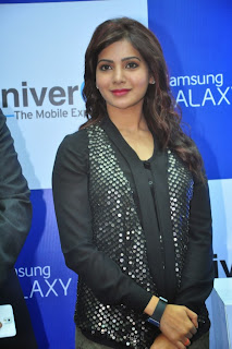 Actress Samantha Latest Pictures at Samsung Galaxy Note 3 Launch  0014