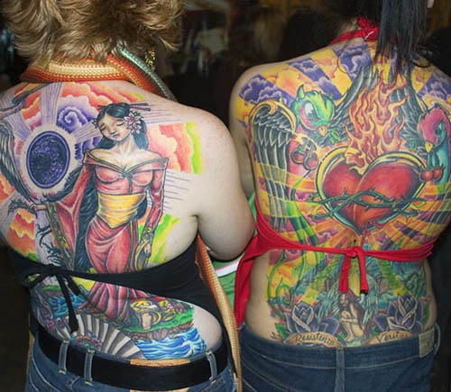 Awesome Full Body Tattoo Designs For Girls and Women