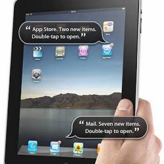 iPad VoiceOver