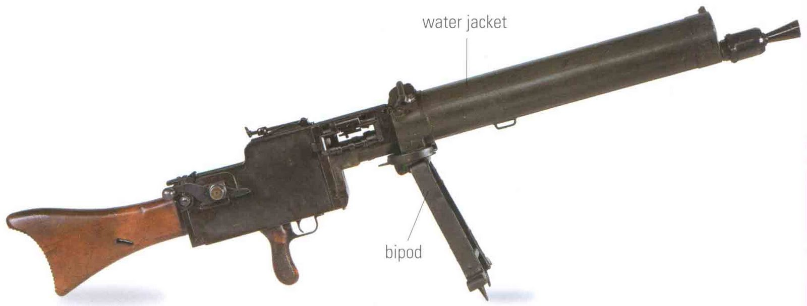 The encyclopedia of weapons: World War I survivors