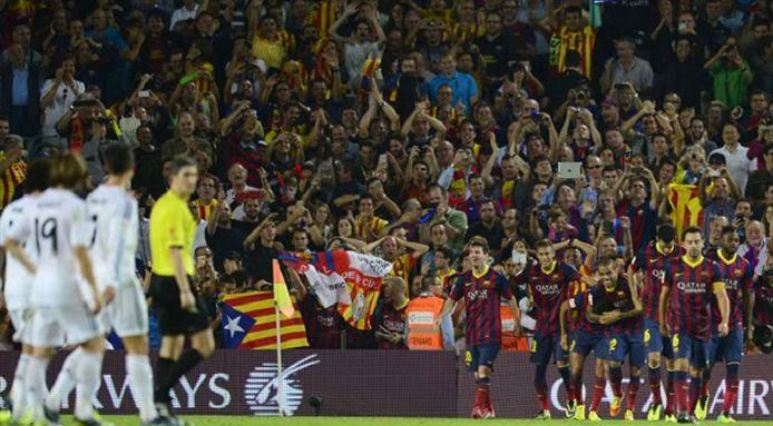 Result El Clasico Barcelona 2-1 Real Madrid