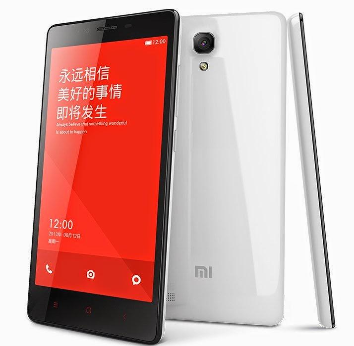 Xiaomi Redmi 1S Smartphone Android RAM 1GB Murah Harga 1 Jutaan