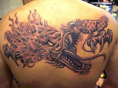 fotos da tatuagem Dagão Tatuado nas Costas