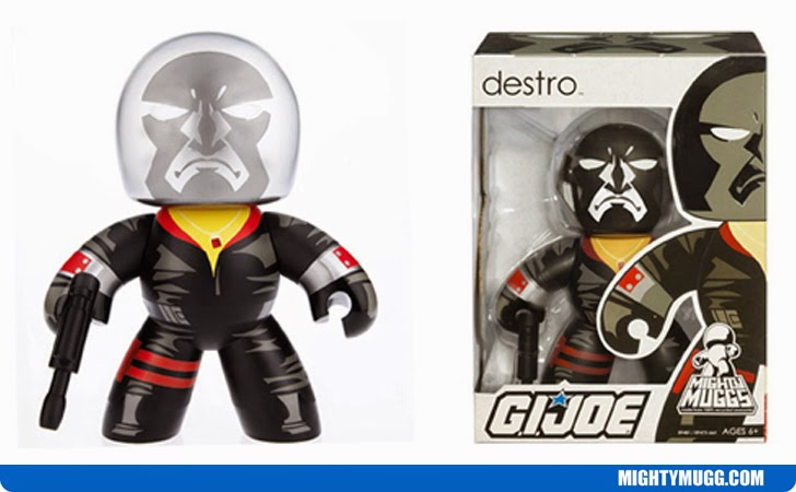 Destro G.I.JOE Mighty Muggs Wave 2