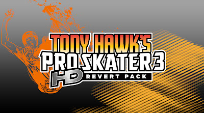 Tony Hawk's Pro Skater 3 HD Revert Pack Logo - We Know Gamers