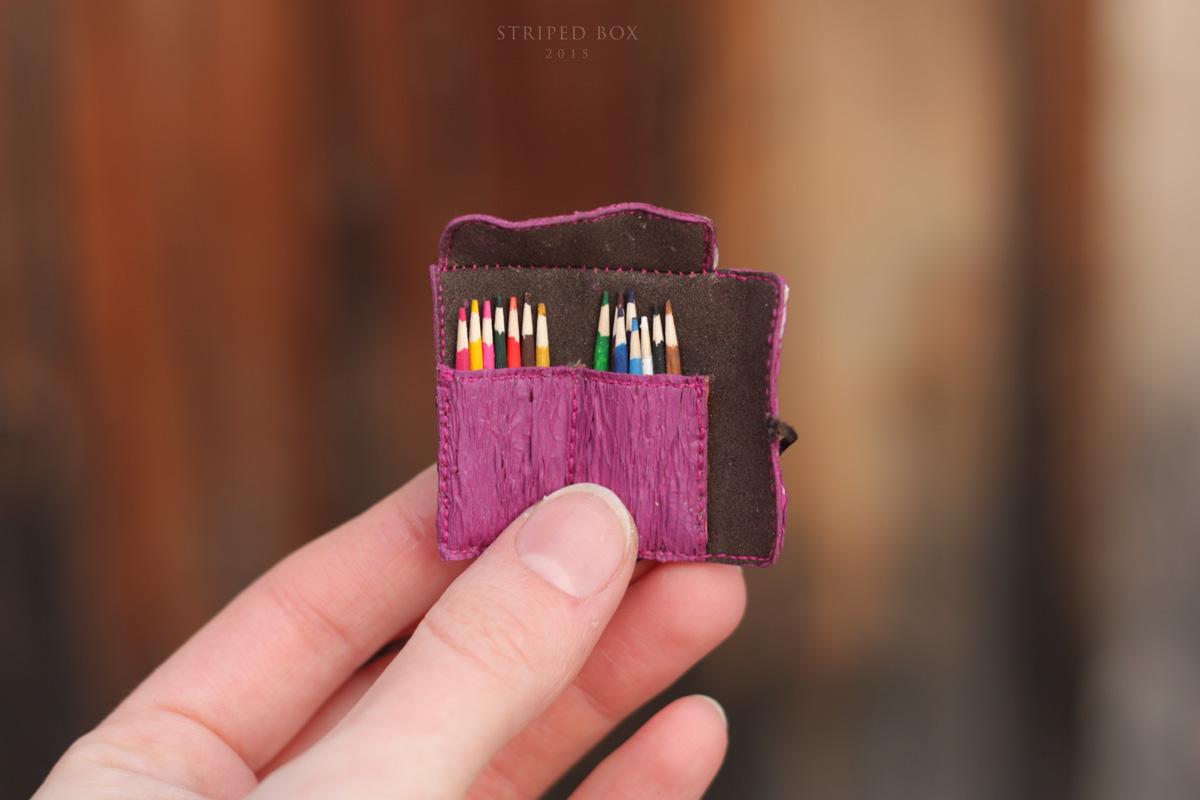 Миниатюра 1/6 набор карандашей